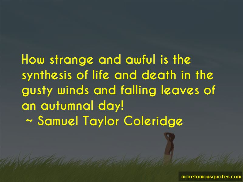 Life And Falling Leaves Quotes Pictures 3