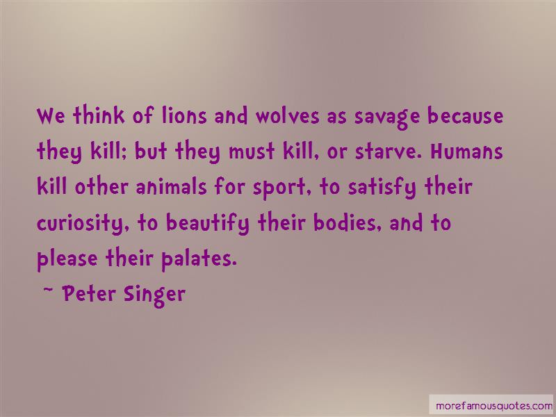 Quotes About Lions And Wolves