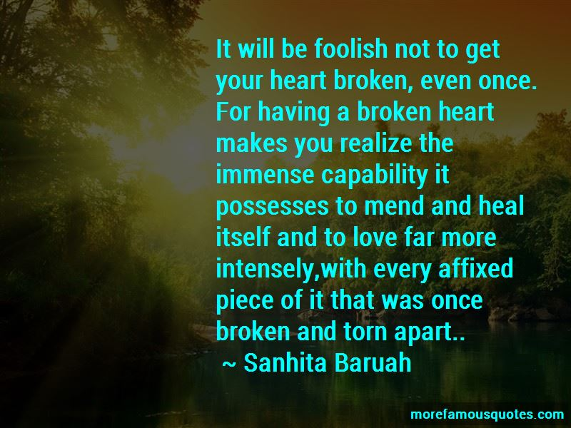 Quotes About Love Torn Apart