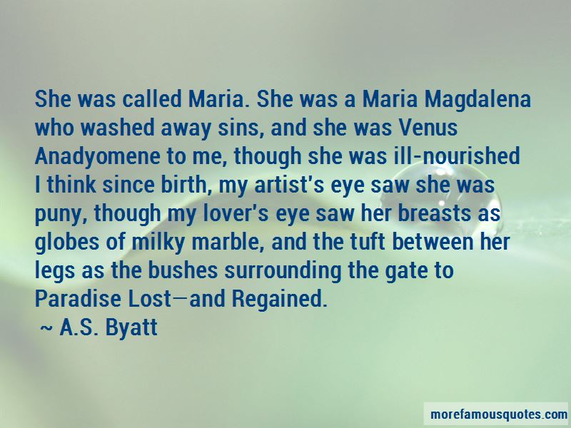 Quotes About Maria Magdalena