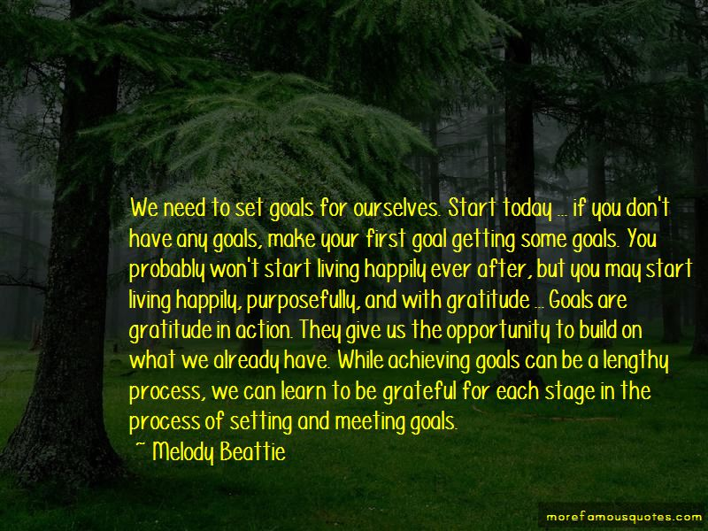 Meeting Your Goals Quotes Pictures 2