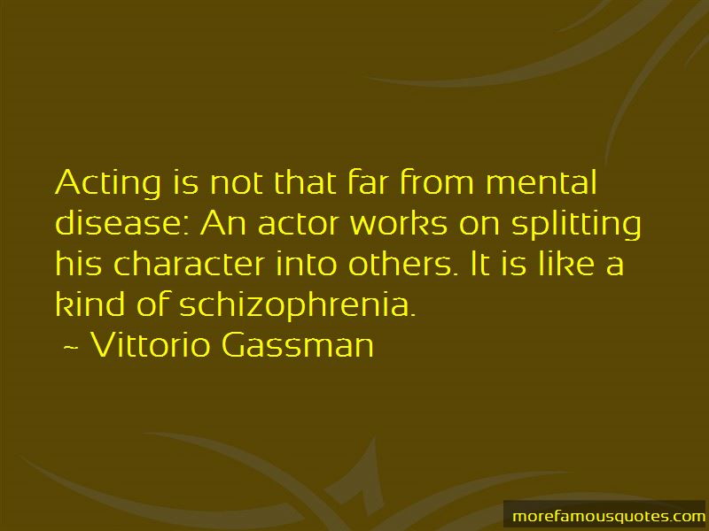 Quotes About Mental Disease