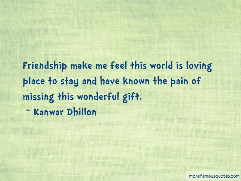 Quotes About Missing Our Friendship