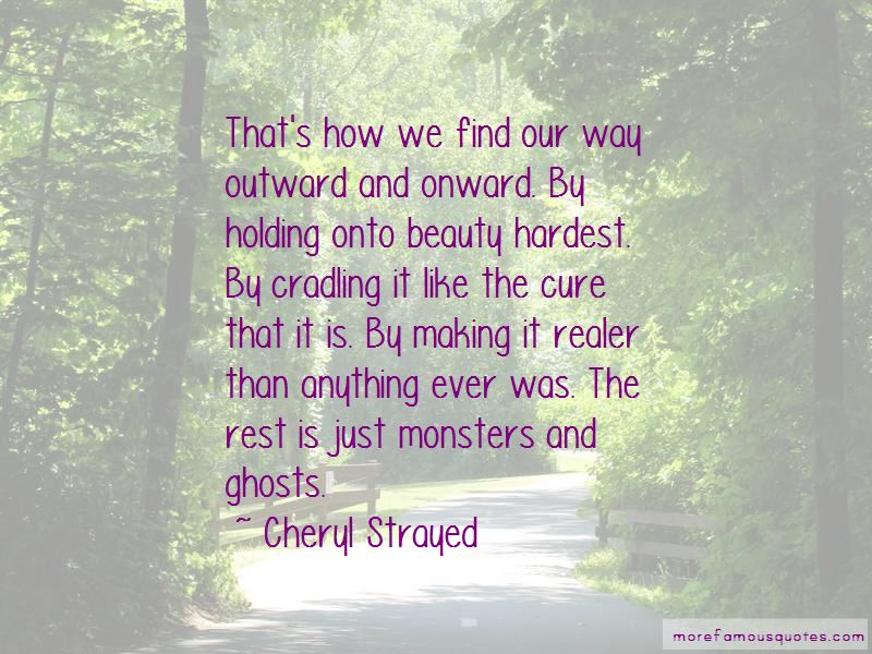 Quotes About Monsters And Beauty
