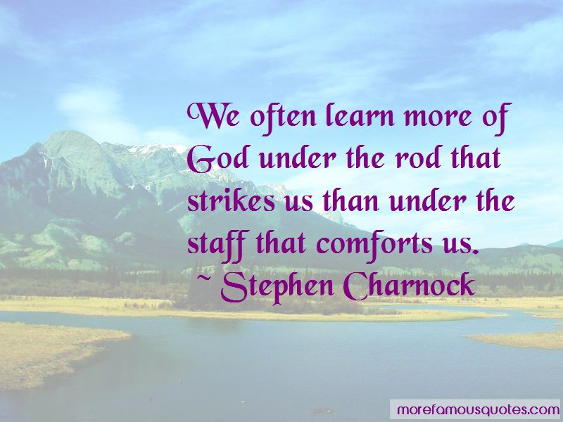 Quotes About More Of God
