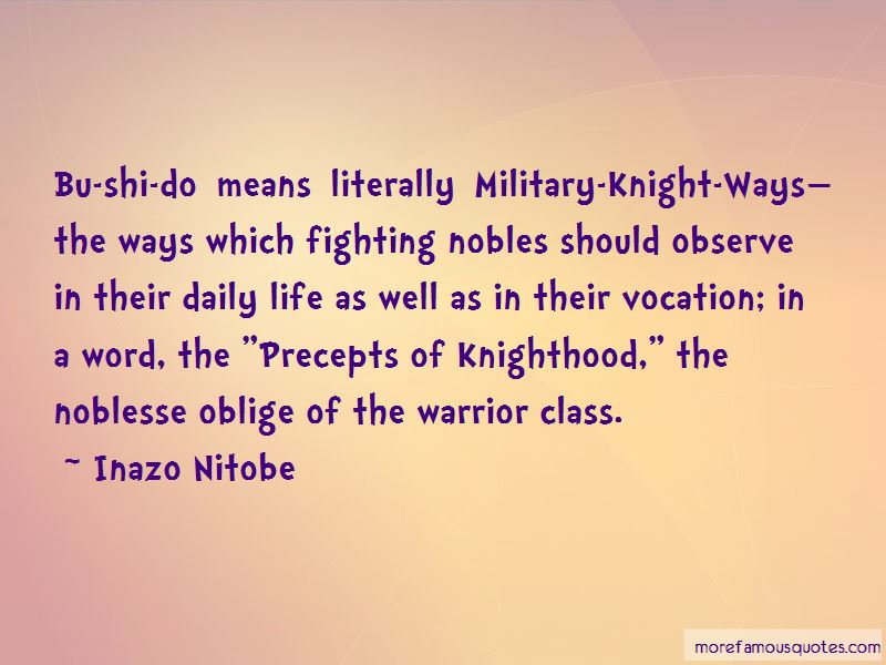 Quotes About Noblesse Oblige