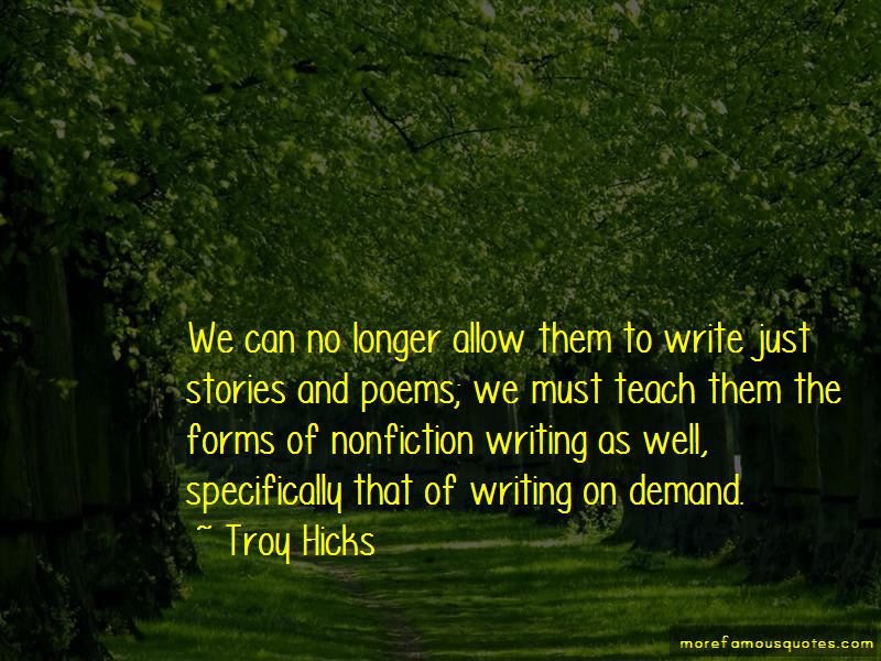 Nonfiction Writing Quotes Pictures 4