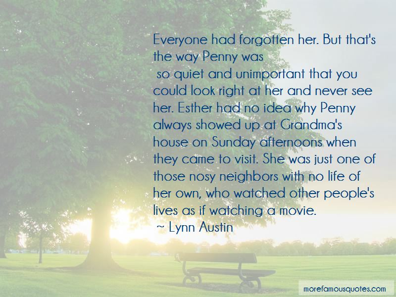 Quotes About Nosy Neighbors