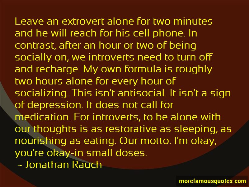Quotes About Not Being Antisocial