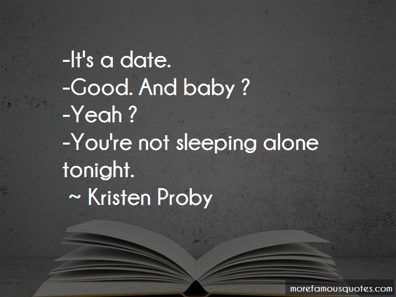 Quotes About Not Sleeping Alone: top 27 Not Sleeping Alone ...