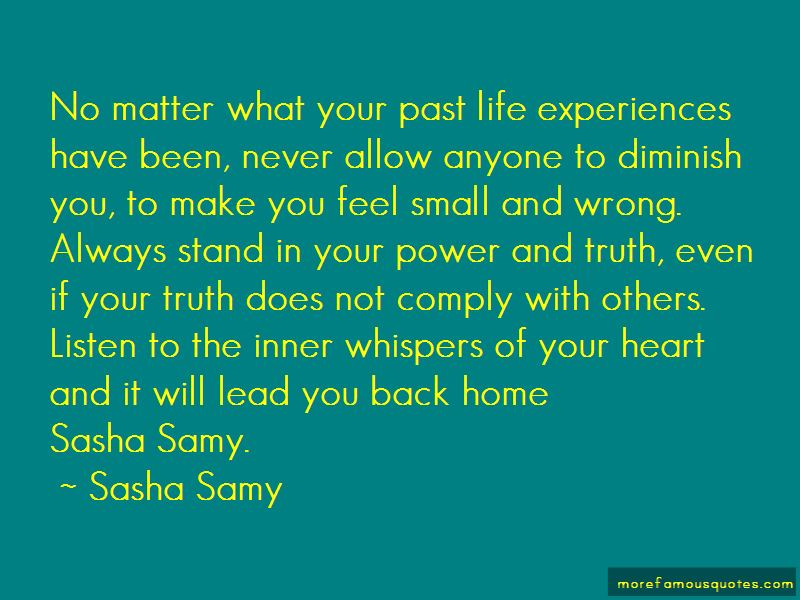 Quotes About Past Life Experiences
