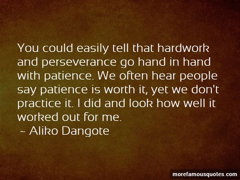 Quotes About Patience And Hardwork