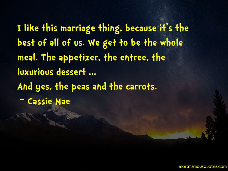 Peas And Carrots Quotes Pictures 4