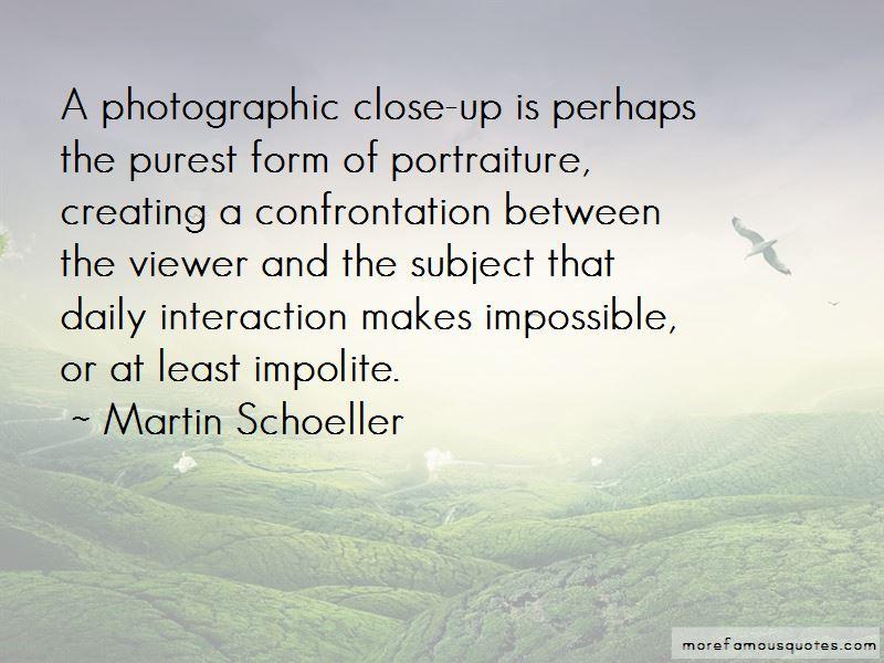 Quotes About Portraiture