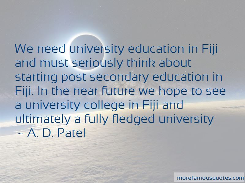 Quotes About Post Secondary Education