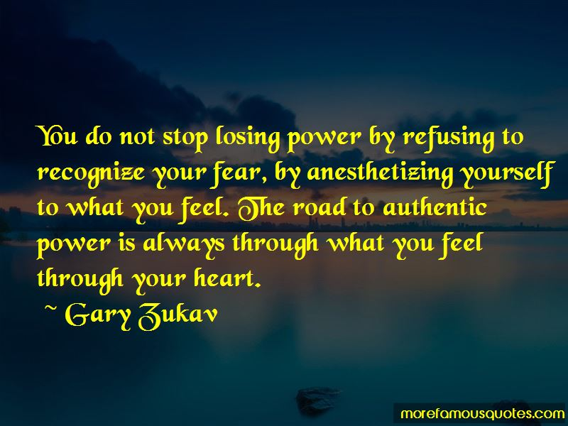 Power Through Fear Quotes Pictures 3