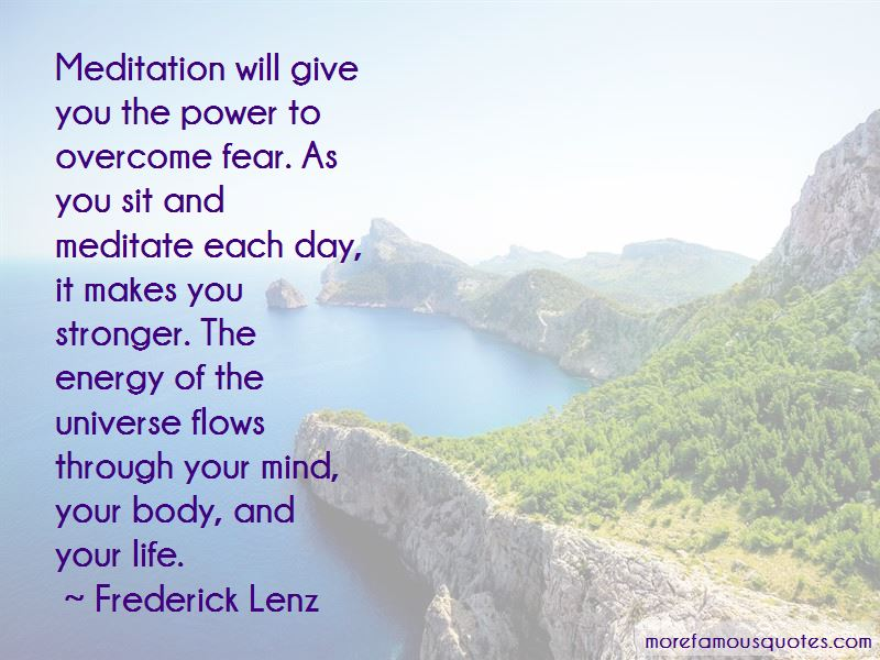 Power Through Fear Quotes Pictures 4