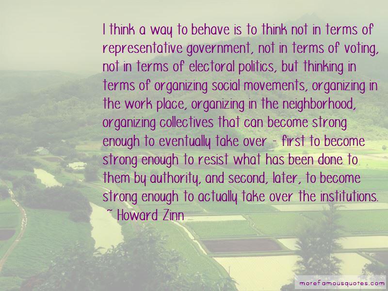 Representative Government Quotes Pictures 2