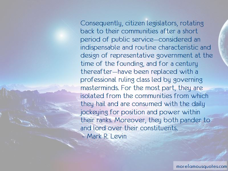 Quotes About Representative Government