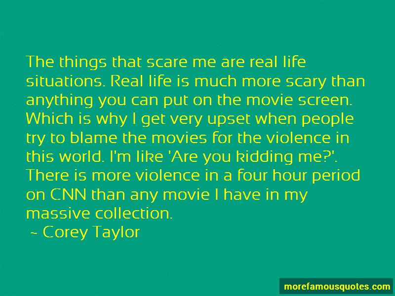 Quotes About Scary Situations