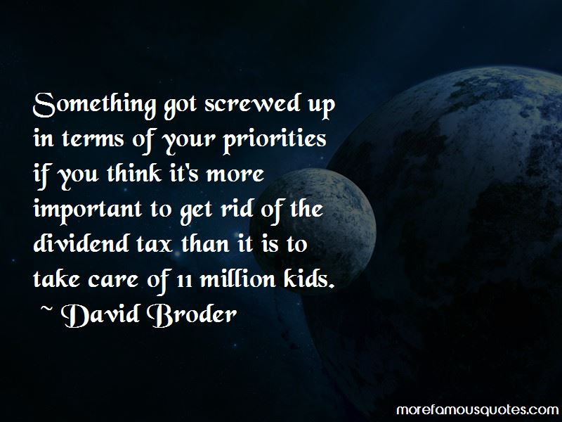 Quotes About Screwed Up Priorities