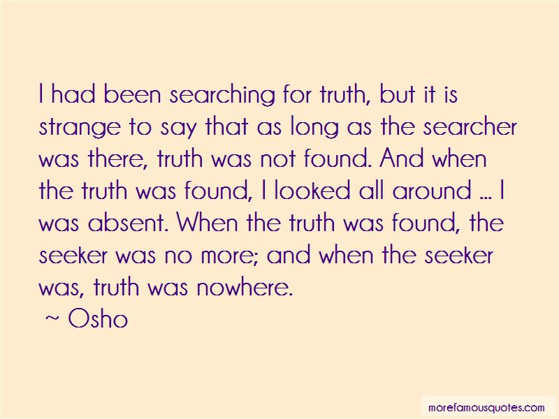 Searching For Truth Quotes Pictures 2