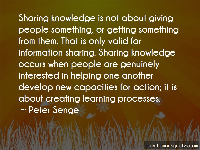 Sharing Knowledge Quotes Pictures 3