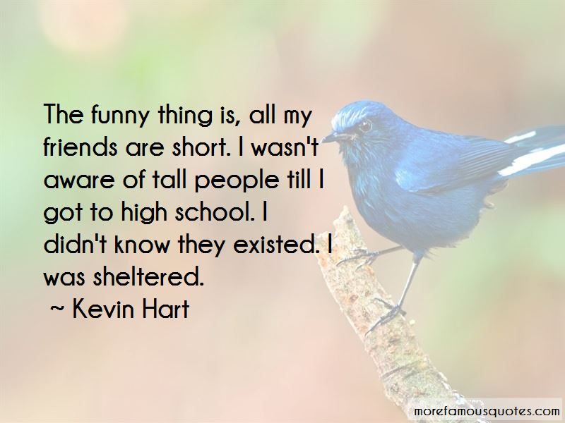 Quotes About Short And Tall Friends