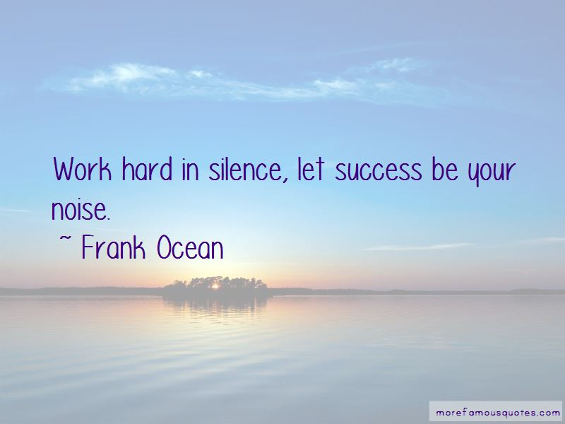 Quotes About Silence And Success Top 19 Silence And Success Quotes