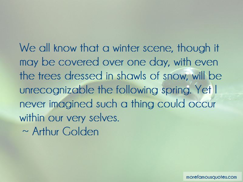 Quotes About Snow Covered Trees