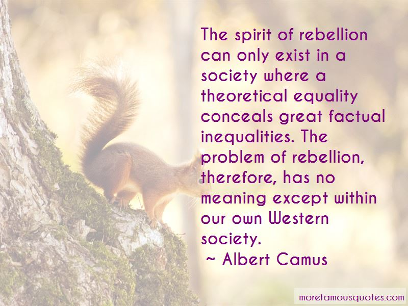 Quotes About Society And Equality