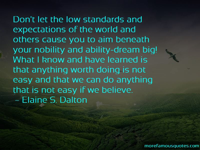 Standards And Expectations Quotes Pictures 2
