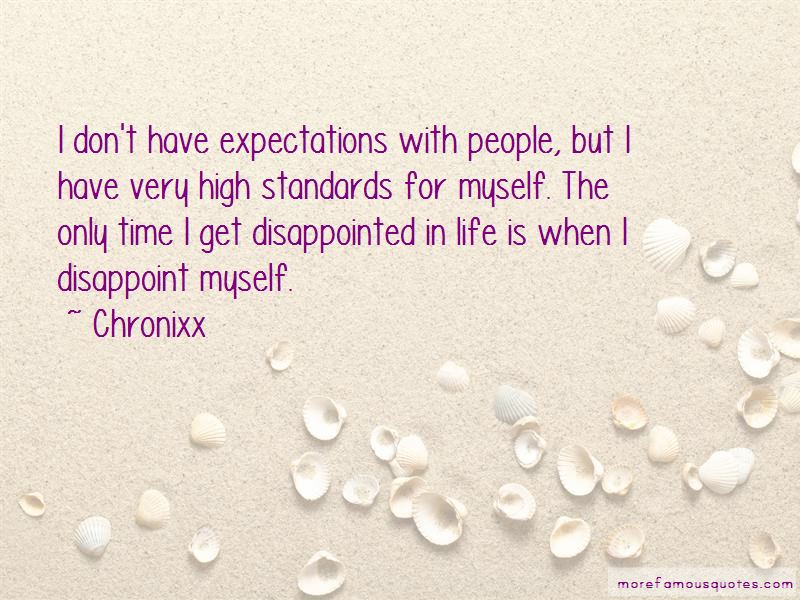 Standards And Expectations Quotes Pictures 3