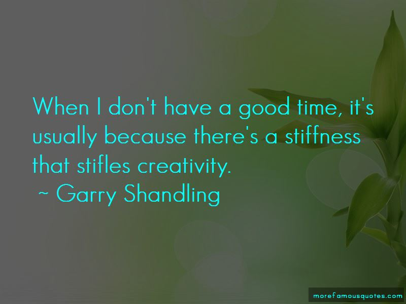 Quotes About Stiffness