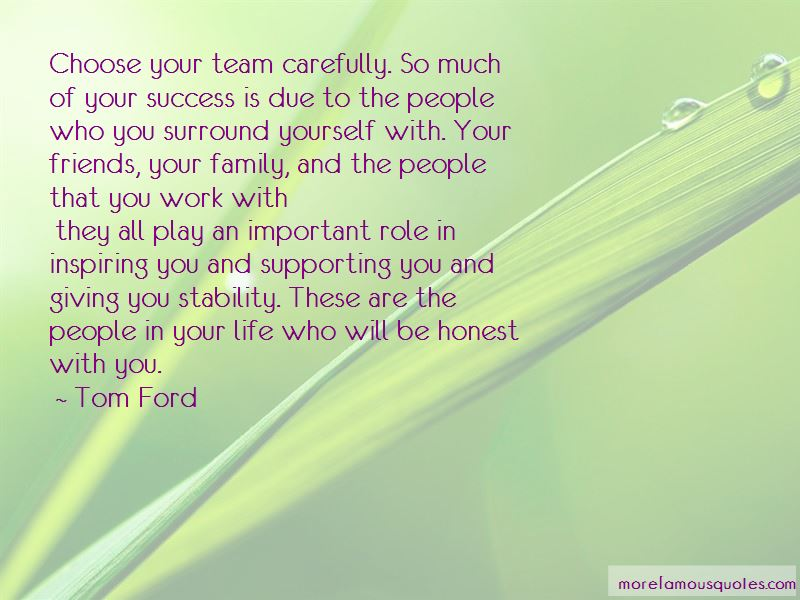 Quotes About Supporting Your Team