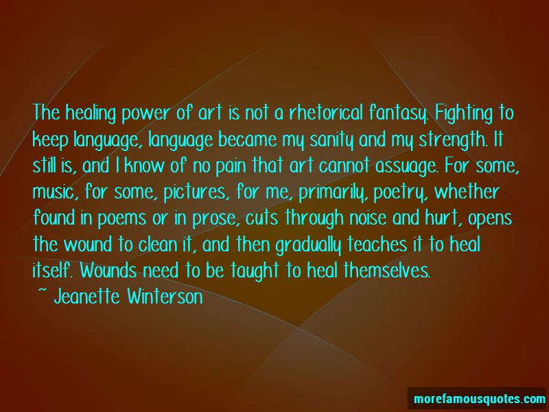Quotes About The Healing Power Of Art