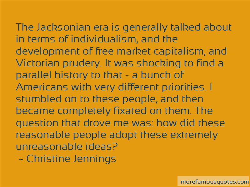 the many different views and ideas that predominated the jacksonian era Essay on jeffersonian vs jacksonian democracy elements dominated this form of democracy and era despite this, many submits a slightly different.
