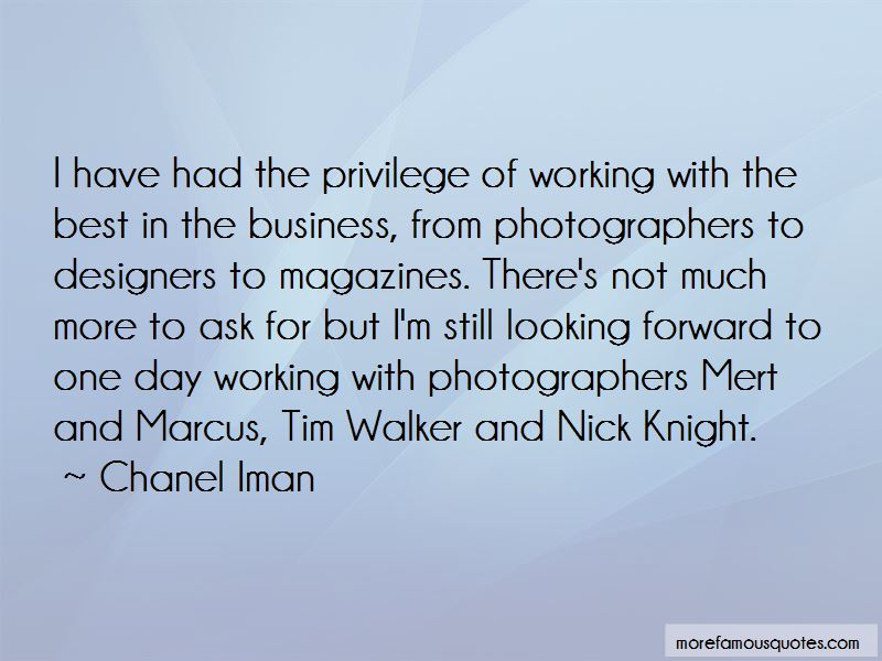 Quotes About Tim Walker