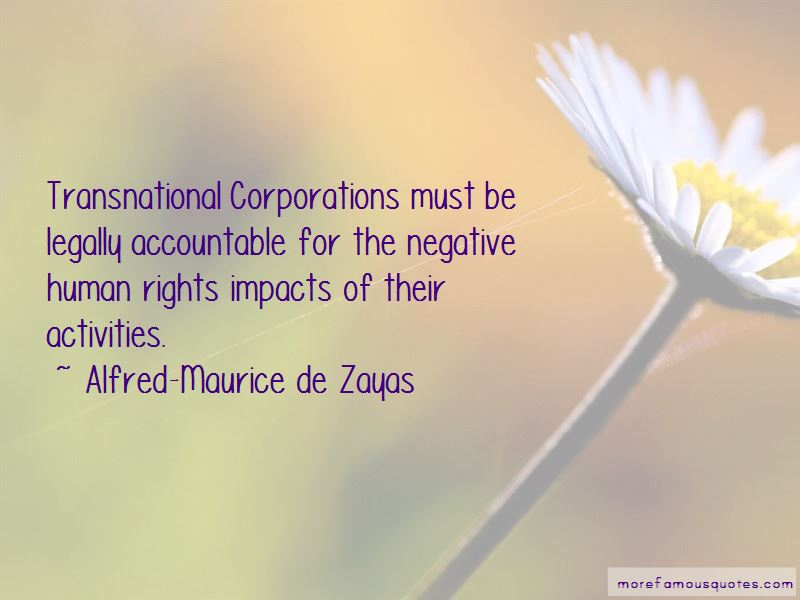 Quotes About Transnational Corporations