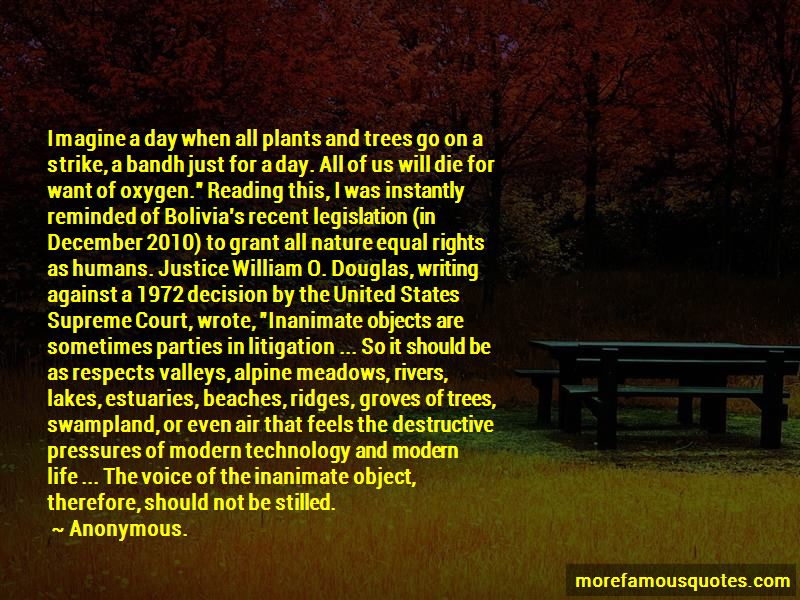 Quotes About Trees And Oxygen