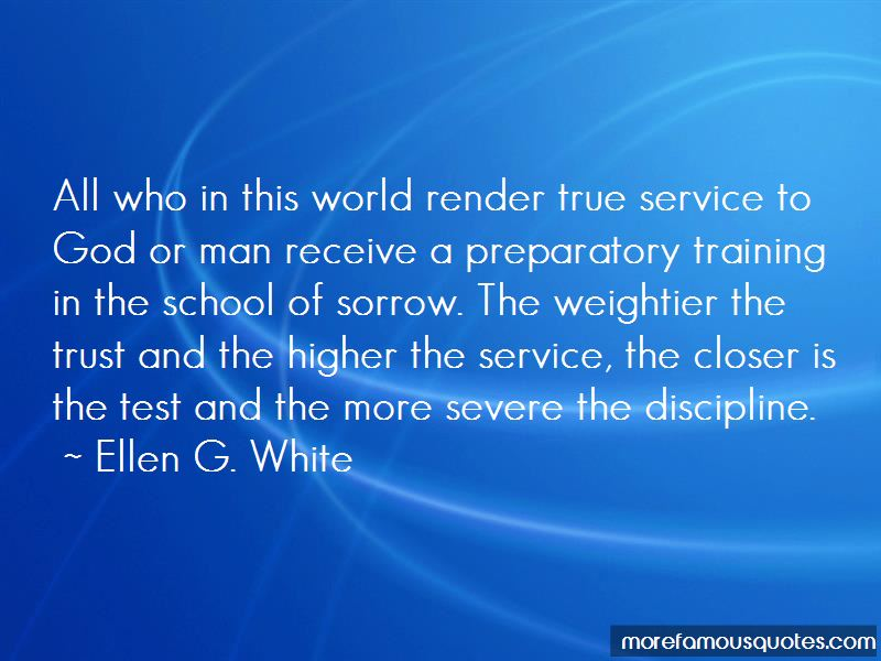 Quotes About True Service To God