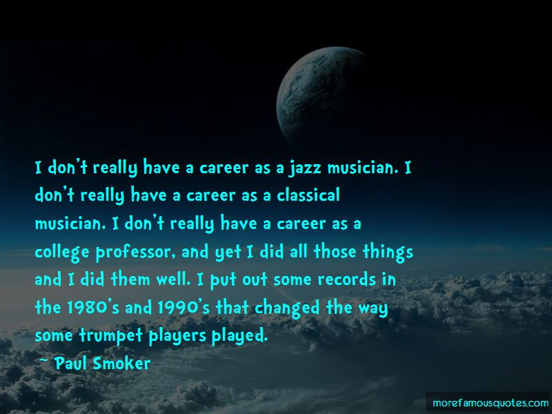 Quotes About Trumpet Players