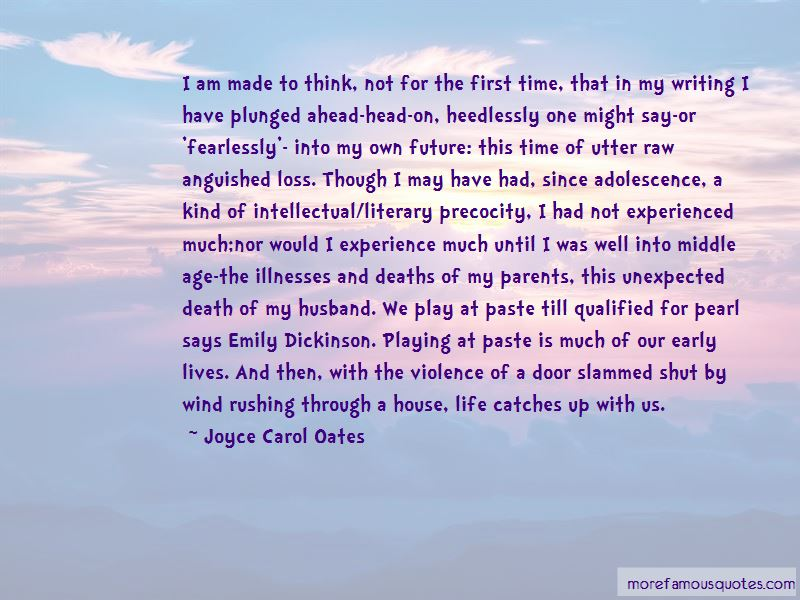 Quotes About Unexpected Deaths