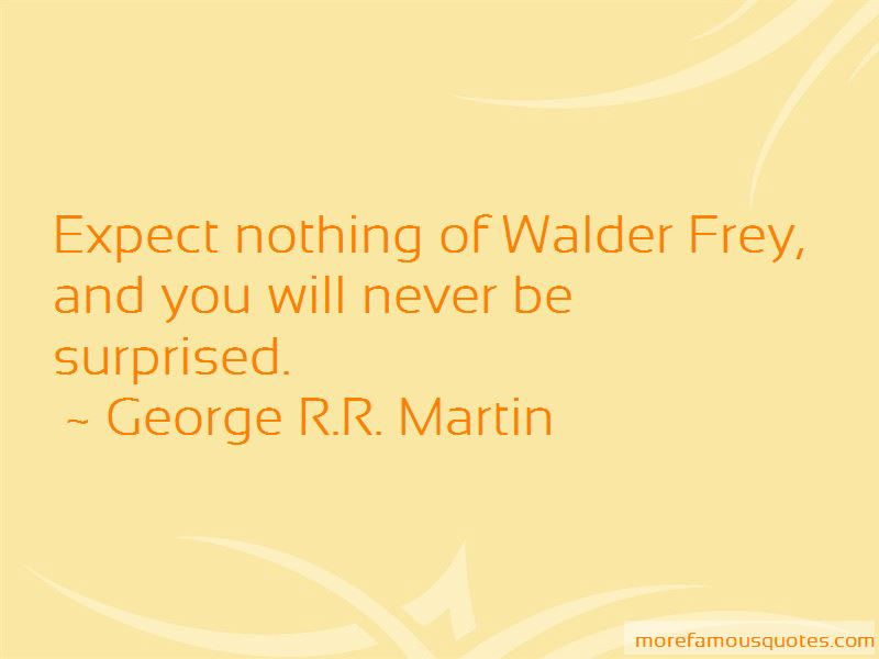 Quotes About Walder Frey