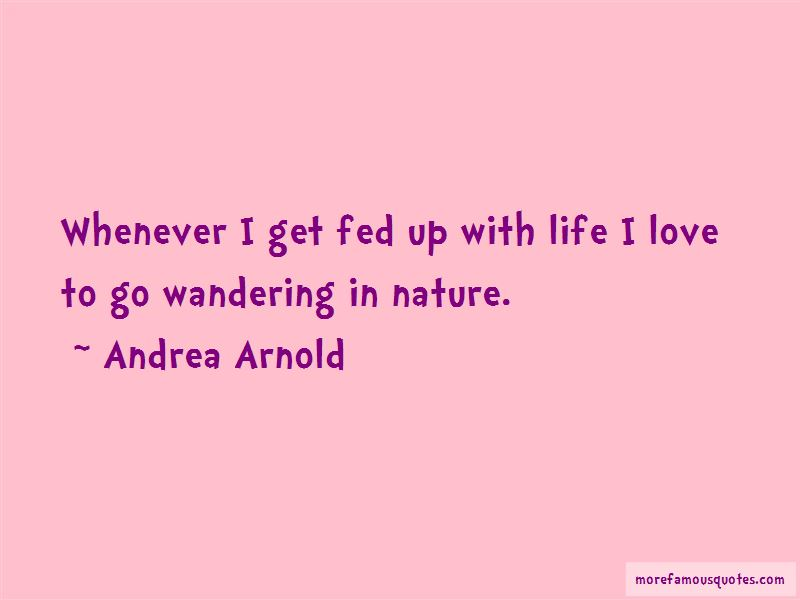 Quotes About Wandering In Nature