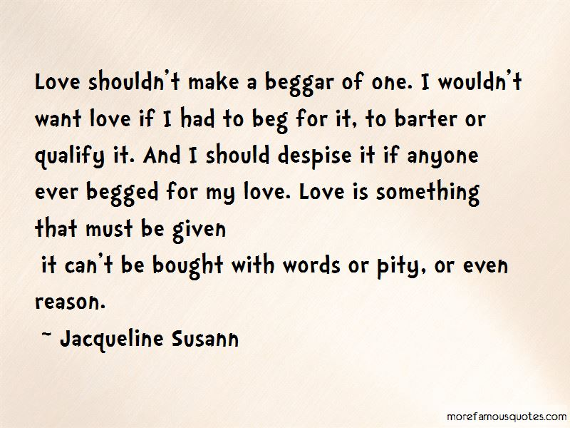 Quotes About Want Love