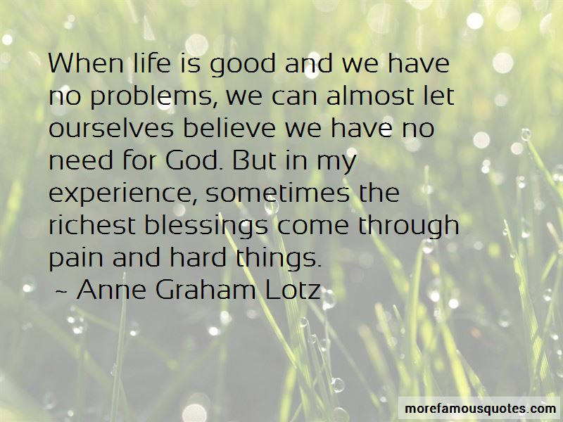 Quotes About When Life Is Good