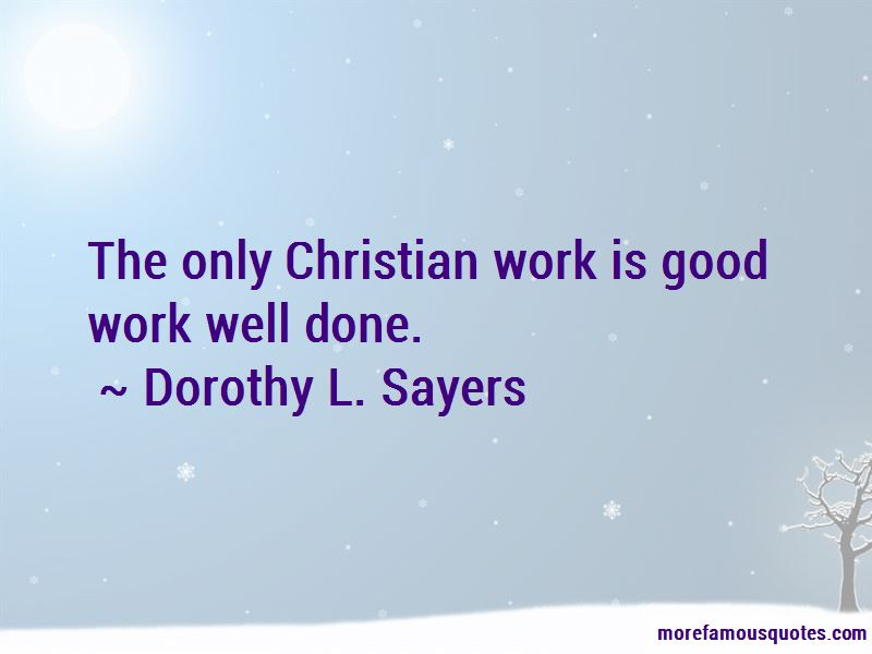 Quotes About Work Well Done