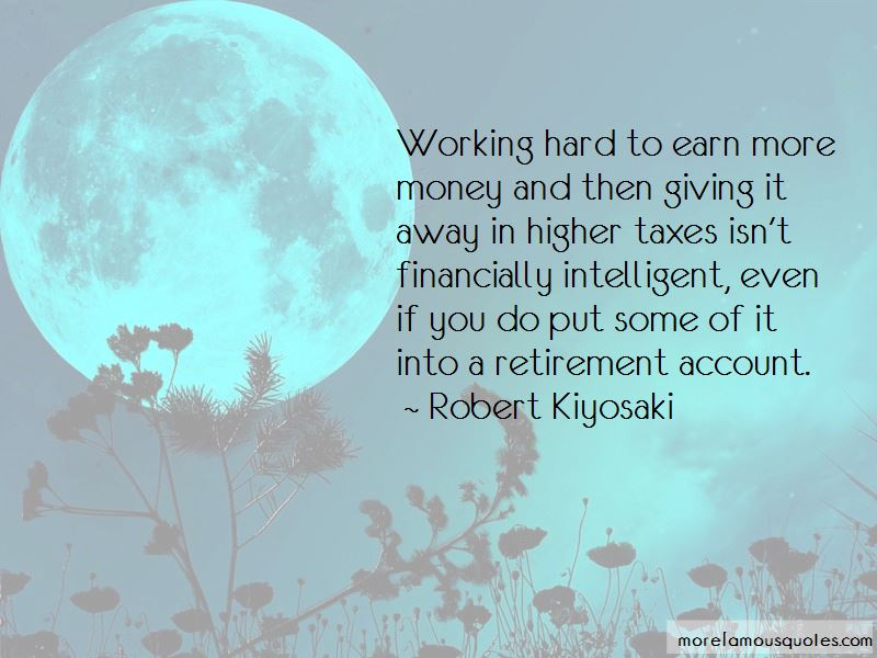 Working Hard To Earn Money Quotes Pictures 2