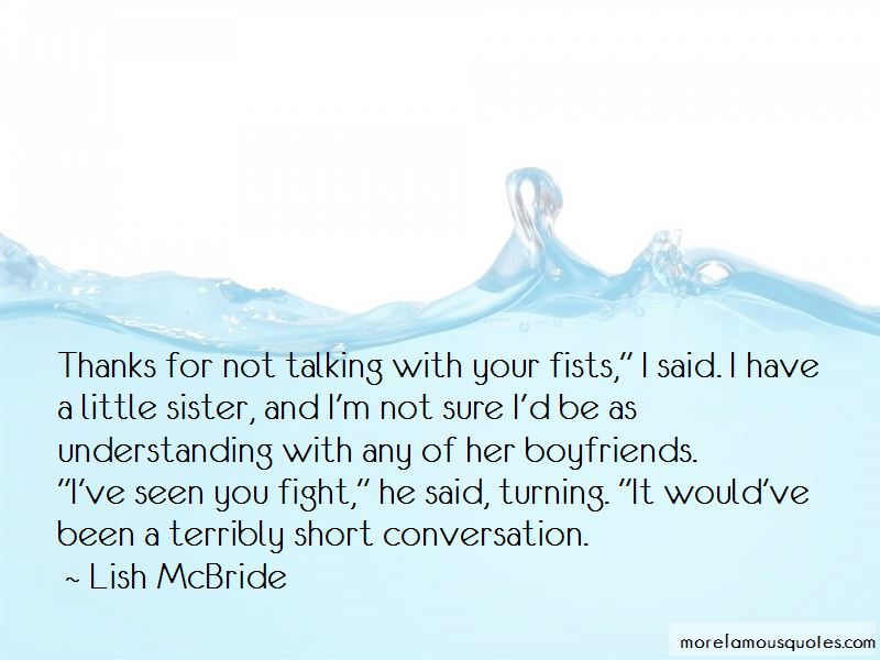 Quotes About Your Boyfriend's Sister